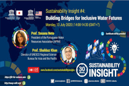 UNESCO Webinar Series on Sustainability Insights